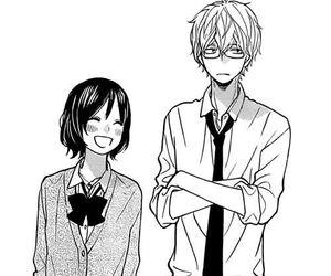 manga, shoujo, and couple image