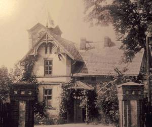 house, photo, and vintage image
