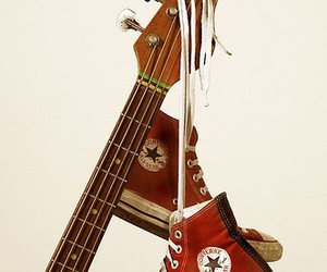 converse and guitar image