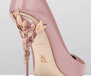 shoes, heels, and pink image