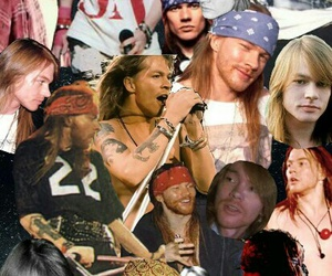 axl rose, Guns N Roses, and patrones image