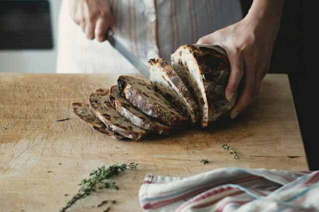 bread, delicious, and kitchen image