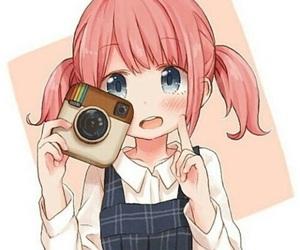 anime, kawaii, and instagram image