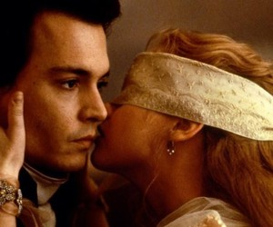johnny depp, kiss, and sleepy hollow image