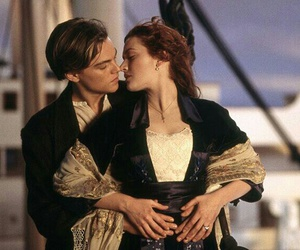 titanic, kiss, and rose image