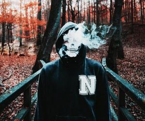 art, grunge, and hoodie image