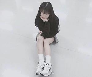 fashion, korean, and shoes image