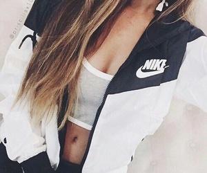 nike, girl, and style image