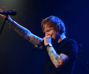 ed sheeran, ginger, and Tattoos image