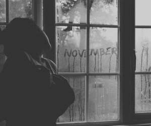 november, alone, and cold image