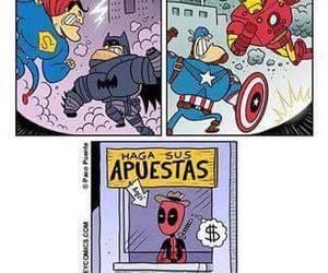 deadpool, Marvel, and civil war image