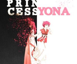 akatsuki no yona, anime, and yona of the dawn image