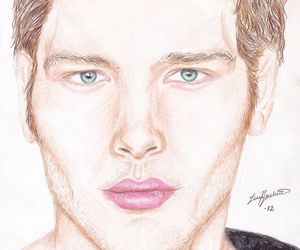 drawing, the vampire diaries, and klaus image