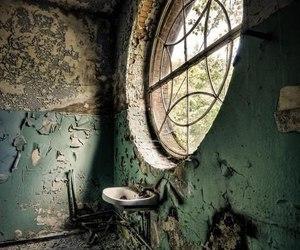 abandoned, window, and photography image