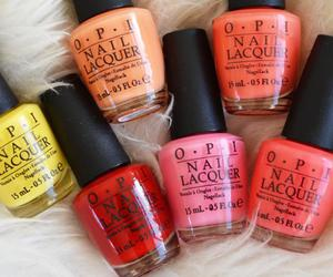 nails, opi, and colors image