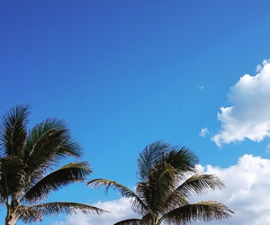 blue sky, cancun, and mexico image