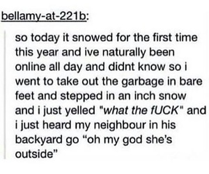 funny, post, and snow image