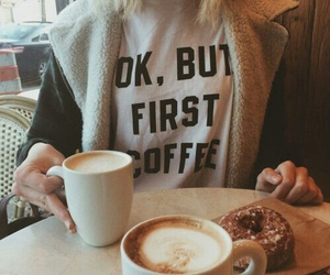 coffee, morning, and food image