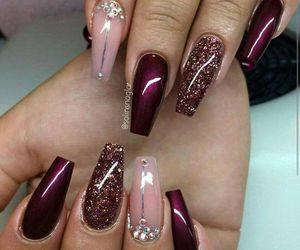 nail, pretty, and nail art image