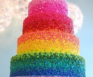 birthday, colorful, and cute image