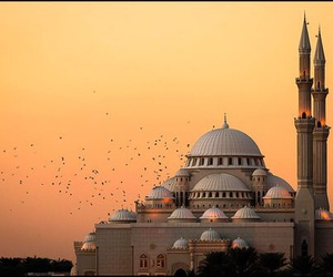 art, mosque, and muslim image