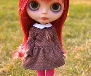 art, blythe, and doll image