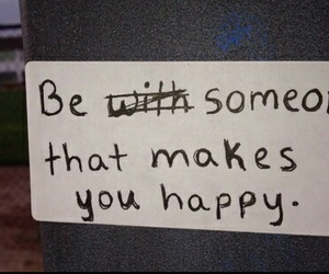 quotes, happy, and someone image