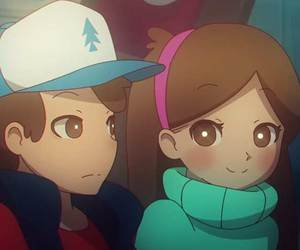 anime and gravity falls image