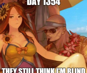 leona, league of legends, and lee sin image