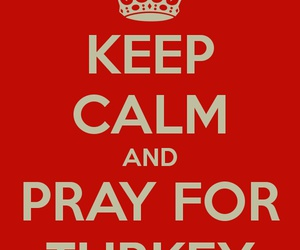 for, pray, and turkey image