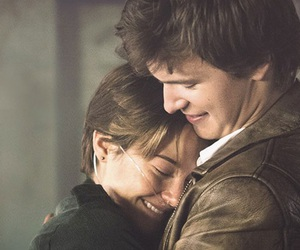couple, movie, and the fault in our stars image
