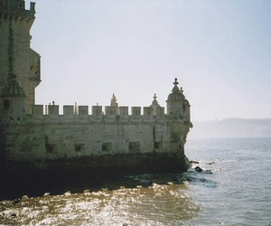 castle and ocean image