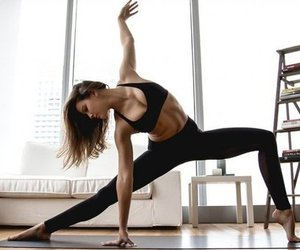 body, yoga, and goals image