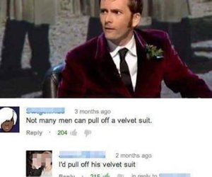 funny, david tennant, and doctor who image