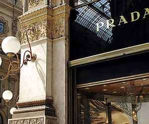 Prada, fashion, and shop image