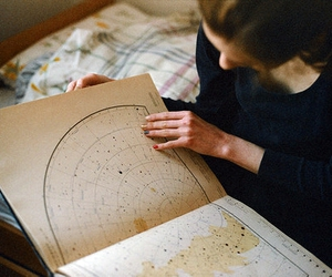 map, book, and indie image