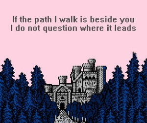 8 bit, art, and quote image