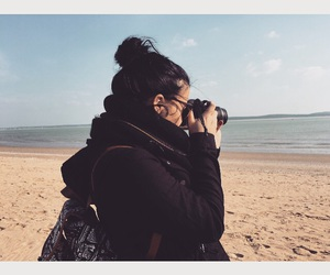 girl, picture, and sea image