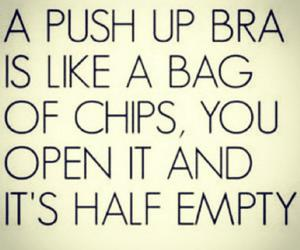 bra, chips, and fun image