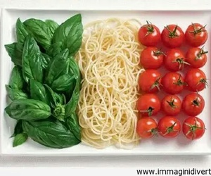 food, italy, and tomato image