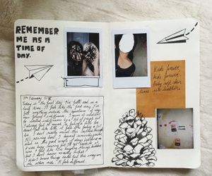 diary, art, and journaling image