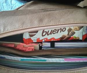 bag, books, and chocolate image