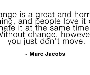 change, cheat, and marc jacobs image