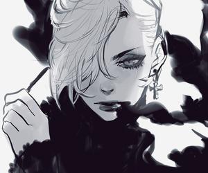 art, cool, and girl image