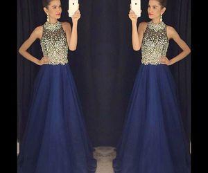 dress and woman image