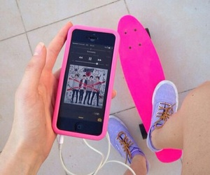pink, 5sos, and iphone image