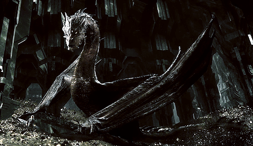 smaug, dragon, and the hobbit image