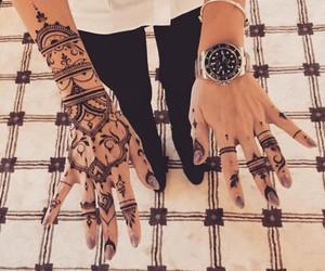 hands, nail art, and handart image