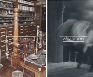 aesthetic, alchemy, and apparition image