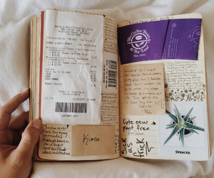 book, pages, and diary image